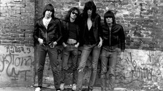 A promotional picture of the Ramones