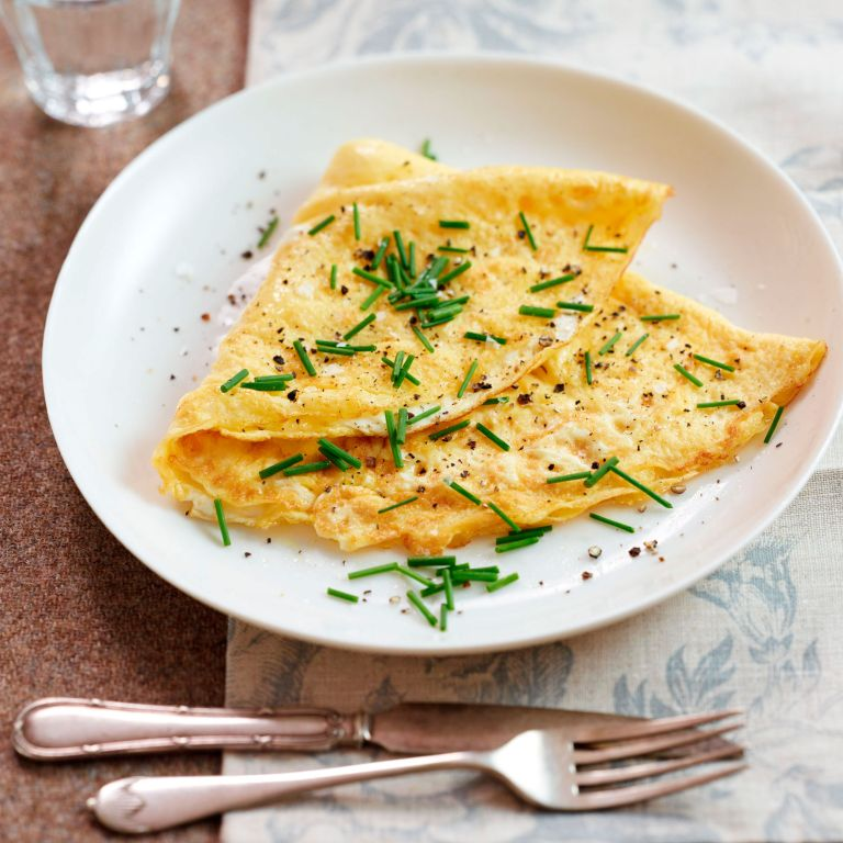 Photo of an omelette recipe