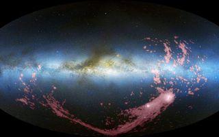 All Sky View of Magellanic Stream 1920