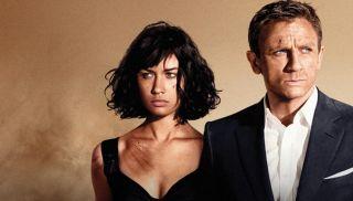 Daniel Craig and Olga Kurylenko in Quantum of Solace