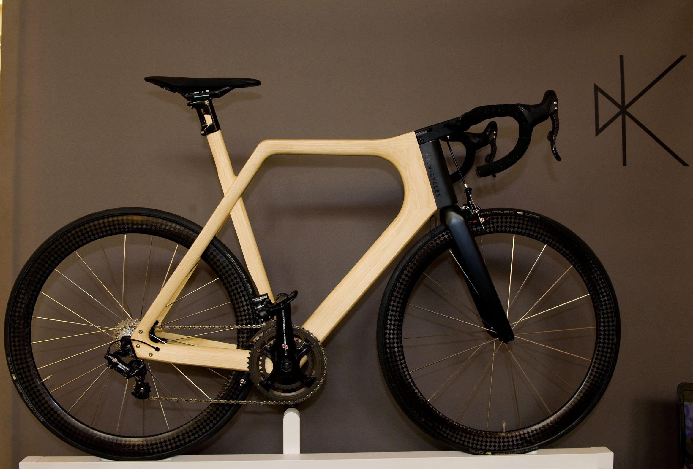 six stunning bikes from the bespoked bristol bike show video cycling weekly - Wooden Bike Frame