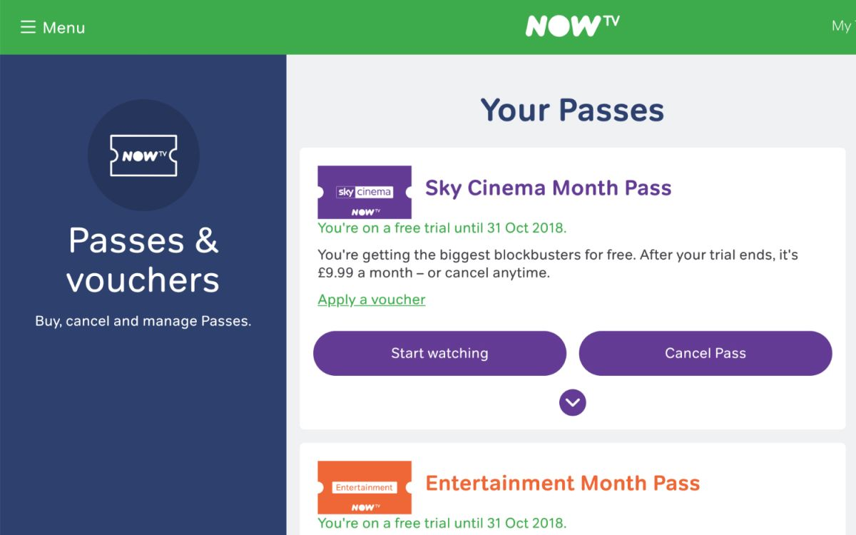 A Guide to Now TV Prices, Passes and Packages | Tom's Guide