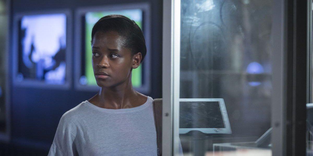 """Letitia Wright in the Black Mirror episode """"Black Museum"""""""