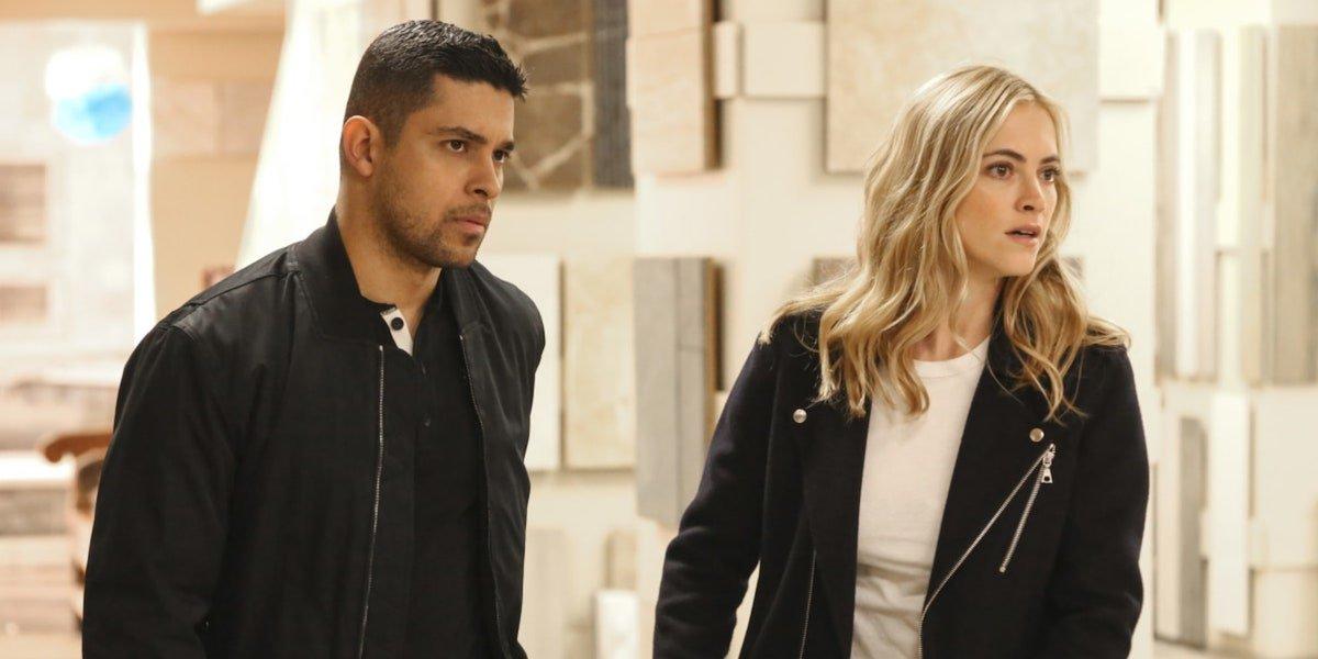 Nick Torres and Ellie Bishop on NCIS