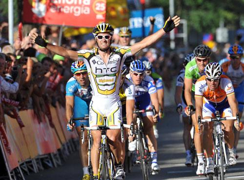 Greg Henderson, Vuelta a Espana 2009, stage 3
