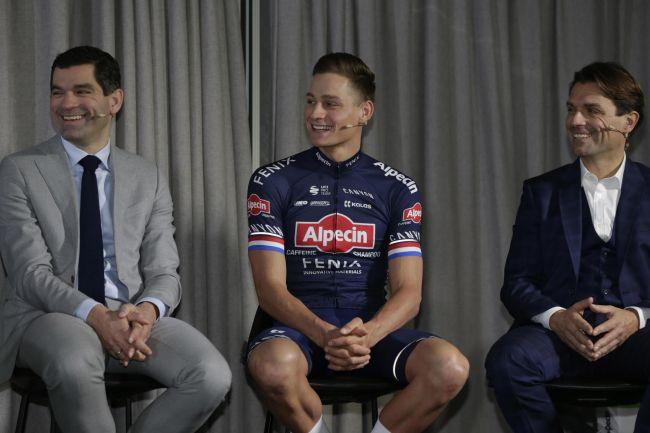 范德普尔:这个赛季我的主要目标还是奥运金牌-领骑网