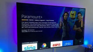 Paramount Plus on Amazon Fire TV