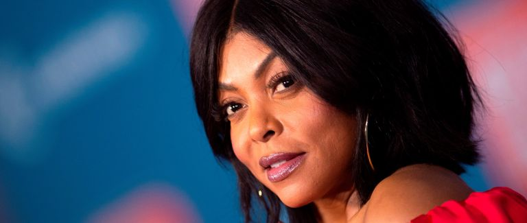 """Actress Taraji P. Henson arrives for the Disney premiere of """"Ralph Breaks The Internet"""" at El Capitan theatre in Hollywood"""