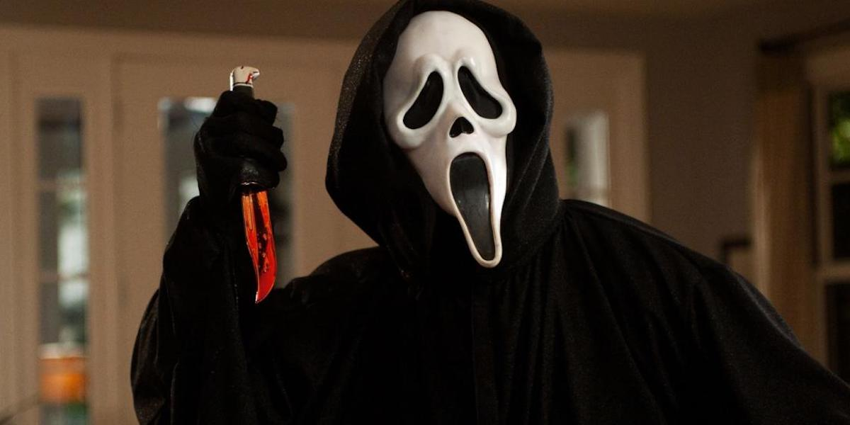 Ghostface in Scream 1996