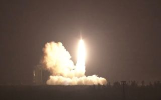ORS-5 Satellite Lifts Off