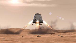 'Red Dragon' Mars Sample-Return Idea