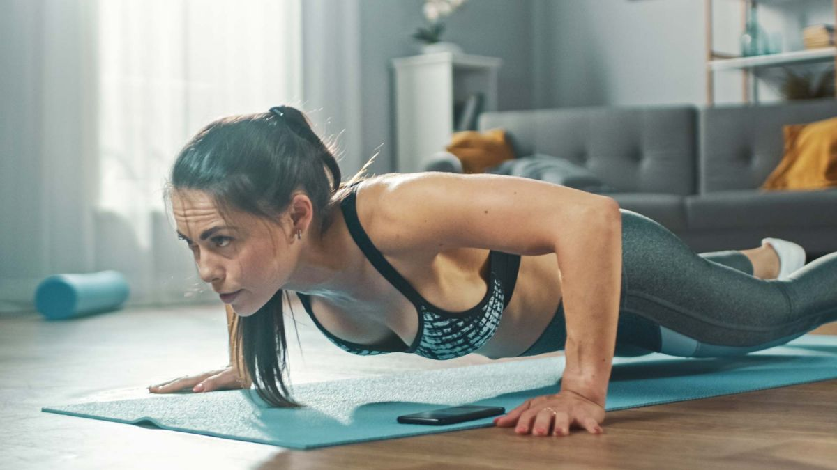 Get in shape at home with this full bodyweight workout