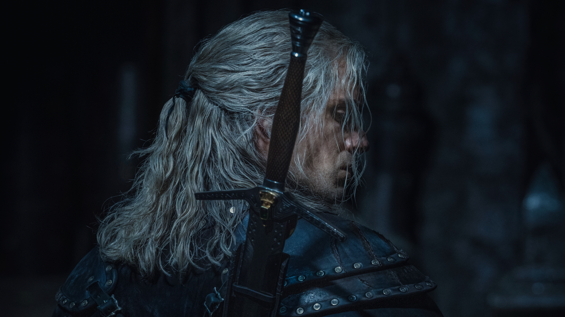 Henry Cavill como Geralt en The Witcher Season 2