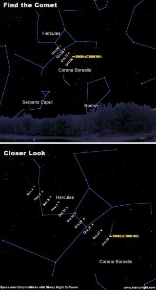 Wow! Striking Green Comet Suddenly Visible in Evening Sky