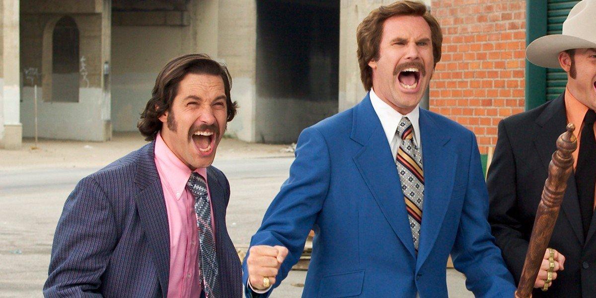 Paul Rudd, Will Ferrell - Anchorman: The Legend of Ron Burgundy