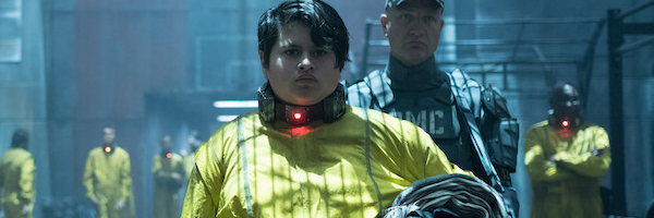 Deadpool 2 Julian Dennison Russell in the Icebox prison uniform