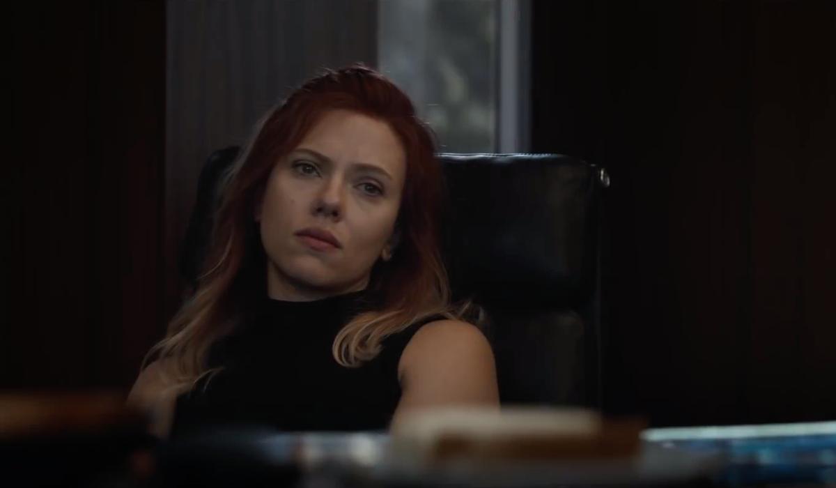 Scarlett Johansson as Natasha Romanoff in Avengers: Endgame