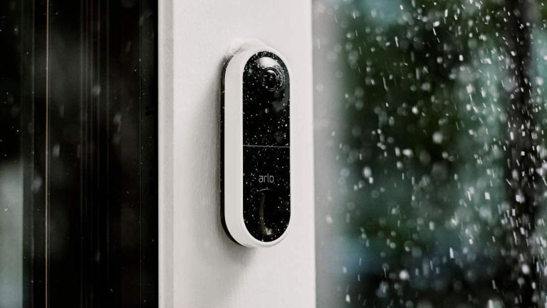 Smart doorbell from Arlo on sale at Amazon
