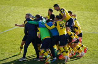 Oxford United v Portsmouth – Sky Bet League One – Play-Offs – Semi Final – Second Leg – Kassam Stadium