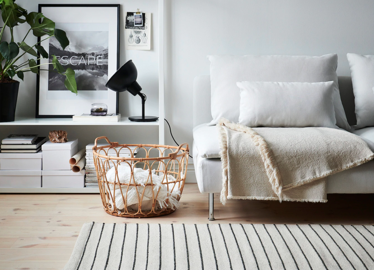 These IKEA storage baskets will get you inspired to start decluttering RIGHT NOW