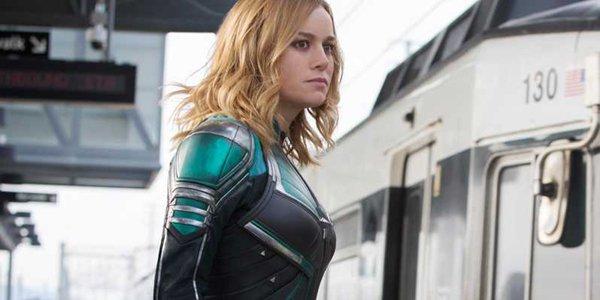 Captain Marvel - Train Chase Clip #1