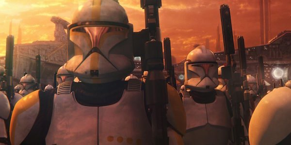 clone troopers march star wars