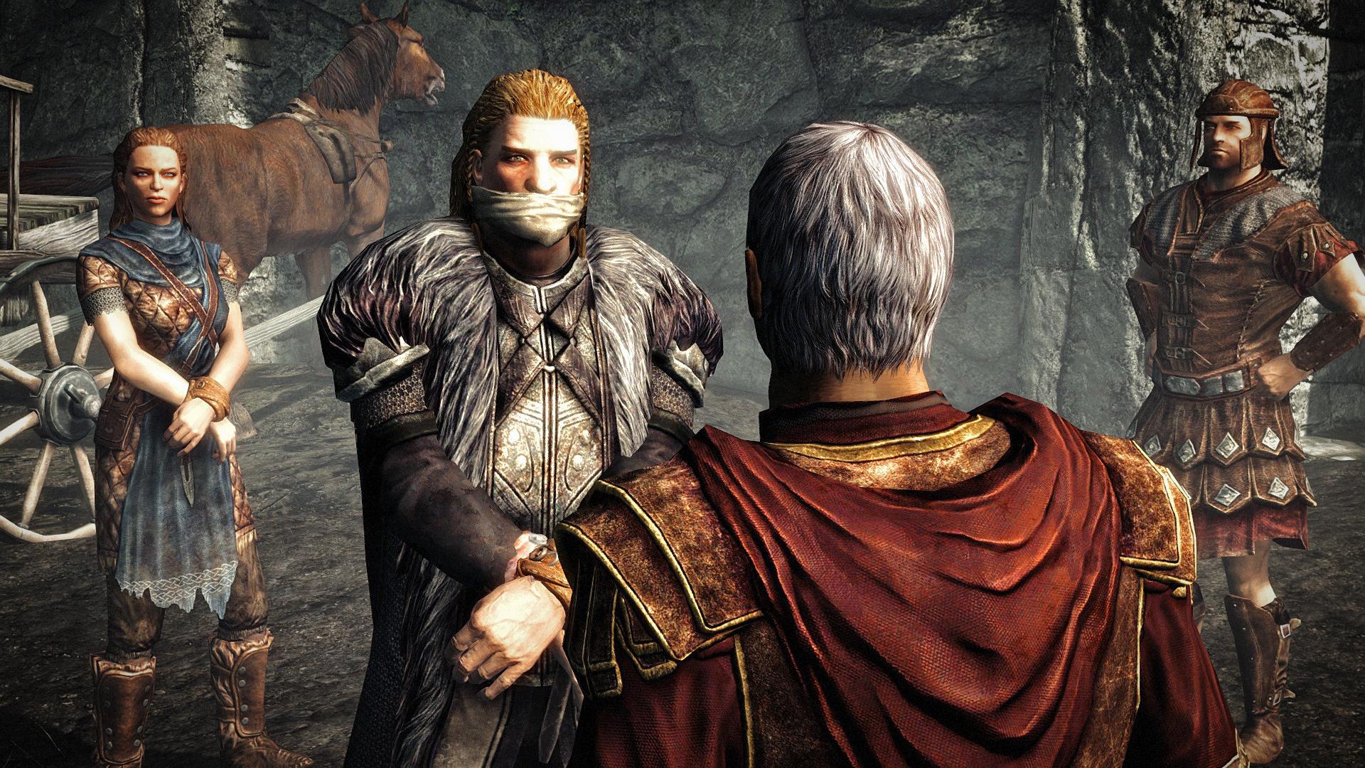 Skyrim Special Edition mod - Opening Scene Overhaul