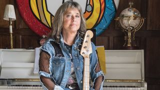 Suzi Quatro at home in 2017, shot exclusively for Classic Rock.