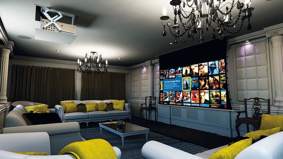 theaters throughout living room home design new | How to build a home cinema room | Real Homes