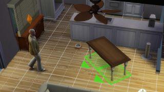Sims 4 rotate item