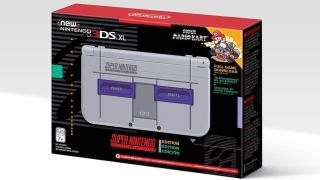 Nintendo New 3DS XL SNES bundle