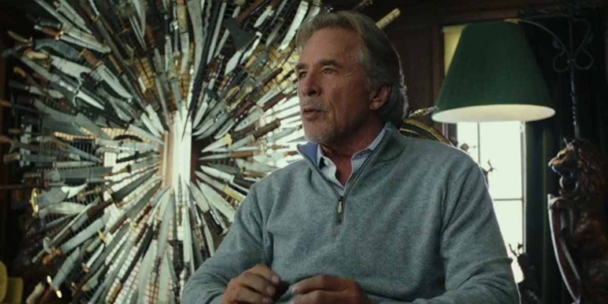 Don Johnson in Knives Out