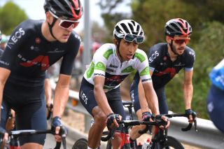 Egan Bernal (Ineos Grenadiers) during the 10th stage of the Vuelta a España