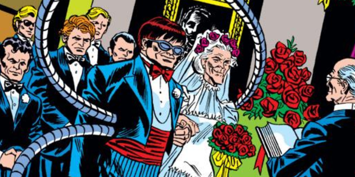 Doctor Octopus and Aunt May's wedding