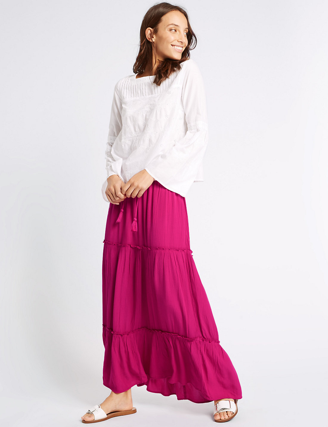 ba4cbe1e5e5b The Best Maxi Skirts and Dresses: The Coolest Way To Cover Legs This Summer