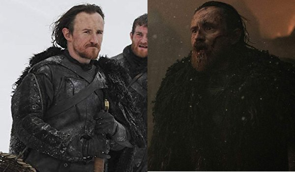 Game of Thrones Eddison Tollett Then and Now
