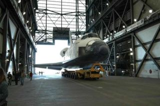Shuttle Endeavour Moves Closer to March Launch