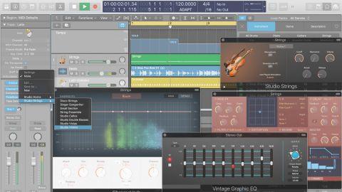 apple logic pro x 10 4 review musicradar. Black Bedroom Furniture Sets. Home Design Ideas