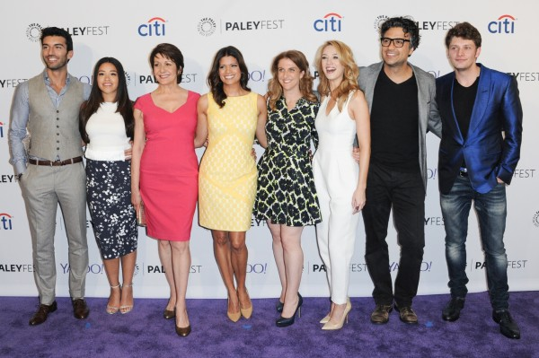 The cast of Jane The Virgin (Richard Shotwell/Invision)
