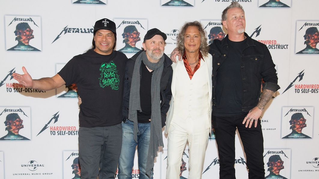 Metallica: We're not trying to hide our age