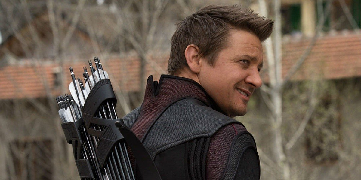 Jeremy Renner as Clint Barton/Hawkeye in Avengers: Age of Ultron (2015)