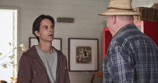 Alf Stewart tells Mick Jennings he must take the job in Western Australia in Home and Away.