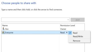 How to share a folder with all users on a Windows 10 PC