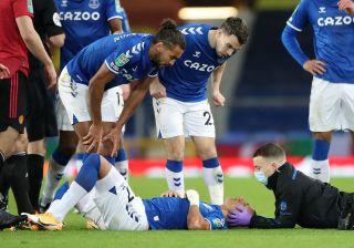 Everton v Manchester United – Carabao Cup – Quarter Final – Goodison Park
