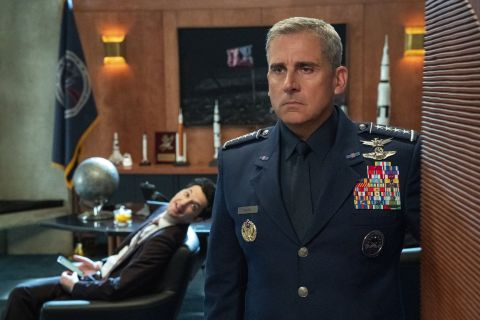 Steve Carell as Mark Naird in Space Force on Netflix