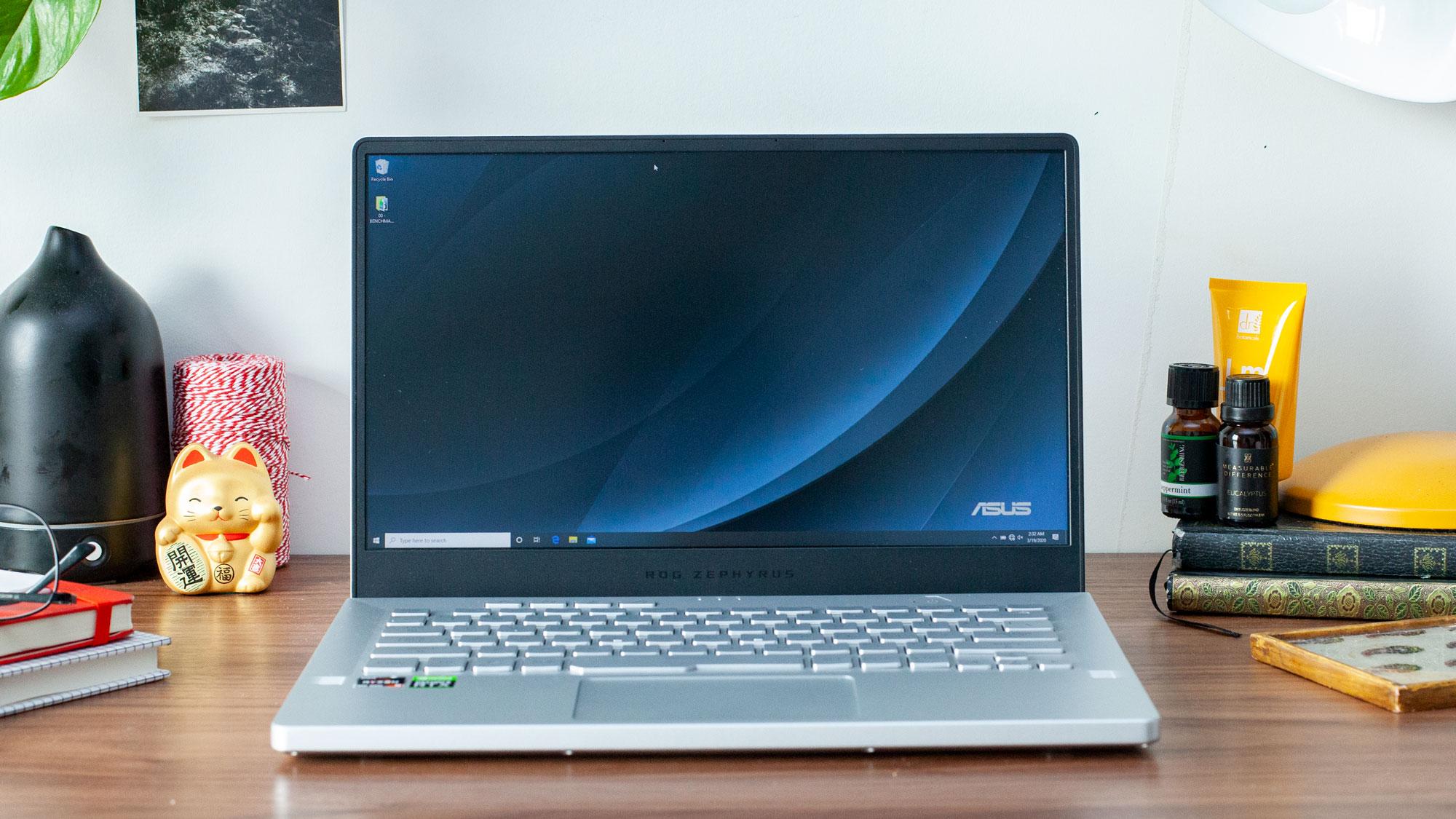 Asus Rog Zephyrus G14 Review Amd Ryzen 9 4900hs Tested Tom S Hardware