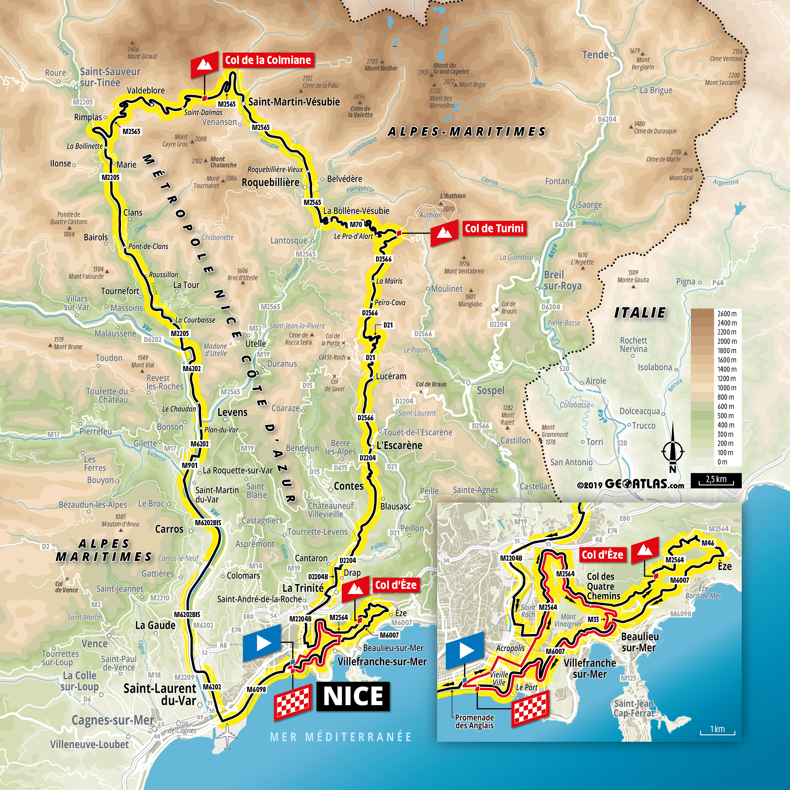 Tour De France 2020 Dates And Route Tour de France 2020: Tough Grand Départ in Nice as stage one and