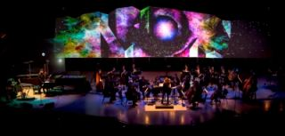 Barco Projecting Electronic Opus Concert