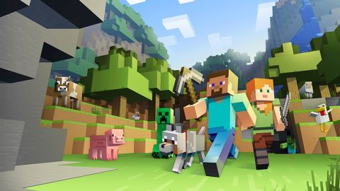 "Minecraft Review: ""A big, beautiful welcome mat to the front door of"
