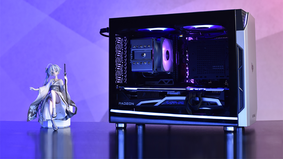 Sapphire Rolls Out Tiny PC Chassis With Big Style